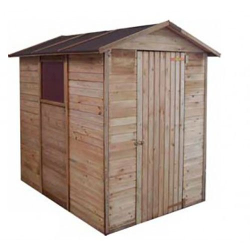 Casetta in legno a pannelli 149 x 213 x 214 cm Mod. Cervinia