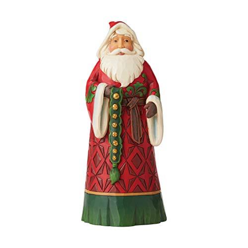 Heartwood Creek 6006638 Figurina di Babbo Natale con Campanelle