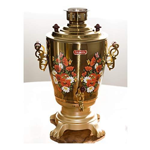 BRIKSUN Elektrischer Samowar Gold 3,2 Liter (Gold