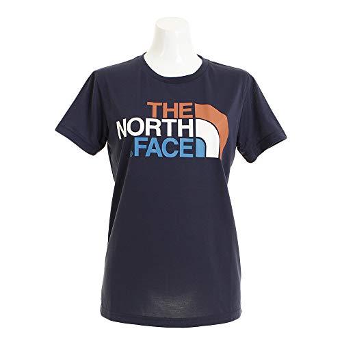 [ザ・ノース・フェイス] Tシャツ ショートスリーブカラフルロゴティー レディース アーバンネイビー 日本 X...