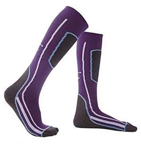 Crivit Sports Chaussettes de ski pour fille Thermolite Thermolite Violet
