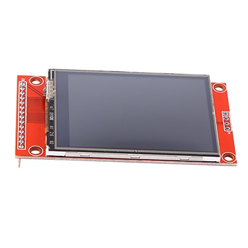 "Akozon 3.3V 240x320 2.4"" SPI TFT LCD Touch Panel Serial Port Module with PBC ILI9341 for Arduino UNO MEGA"