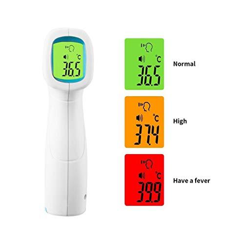 Homgrace Termometro Infrarrojos Termometros Digitales sin Contacto Pistola Termómetro Corporal Adulto para Bebé