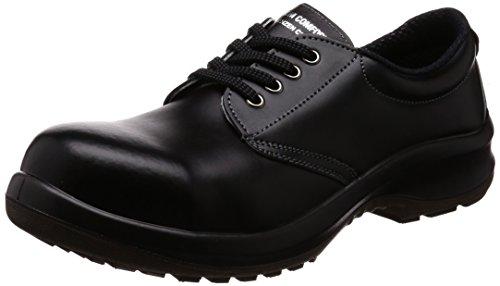 [ミドリ安全] 安全靴 JIS規格 耐滑 耐油 耐薬 短靴 プレミアムコンフォート PRM210NT メンズ ブラック 28 cm 3E