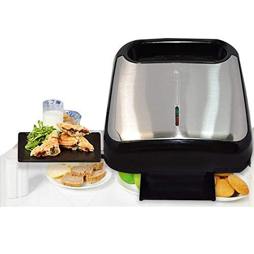 Luxus Edelstahl Haushalt Sandwich-Maker Toaster Frühstück Maschine, 750 W