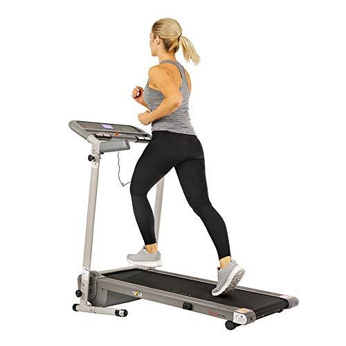 Sunny Health & Fitness Foldable Walking Compact Treadmill - SF-T7942