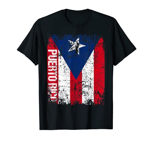 PUERTO RICO Flag Vintage Distressed PUERTO RICO T-Shirt