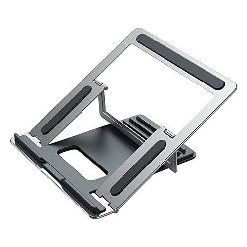 Matedepreso Portátil de aleación de aluminio de la disipación de calor de la ergonomía ajustable del ángulo multi del soporte del ordenador portátil