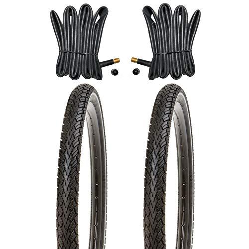 Kujo 20 Zoll Reifen Set 20x1.75 mit Pannenschutz und Reflexstreifen inkl. Schläuche AV