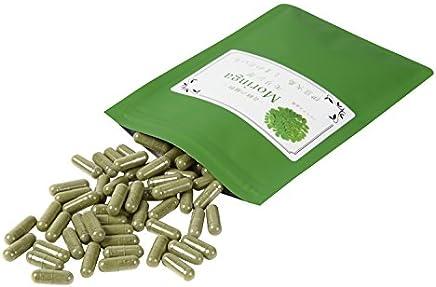 無農薬?国産モリンガパウダー 粉末カプセル (90個×268 mg)   約2ヵ月分  伊豆大島 しまのだいち