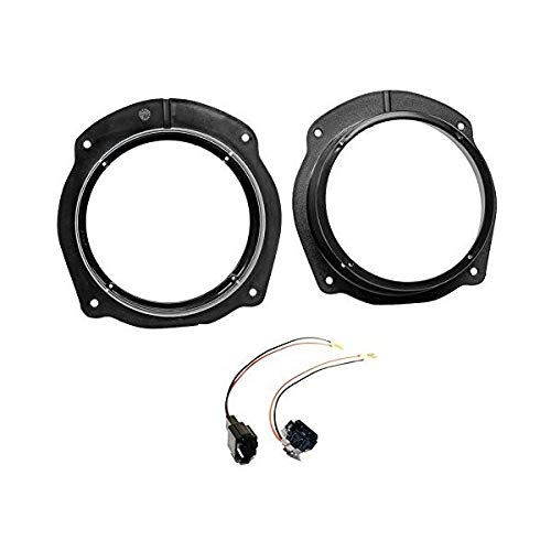Sound-way Kit Installazione Autoradio Adattatori Altoparlanti 165 mm compatibili con Fiat Stilo, Bravo, Croma, Lancia Delta