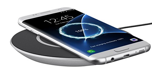 Belkin F7U014dqSLV Boost Up Qi 15W Wireless Charging Pad for Samsung, Black Pack