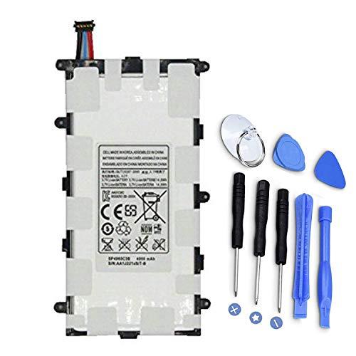 SP4960C3B Batería de Repuesto para Tableta para Samsung Galaxy Tab 2 7.0 GT-P3100 P3108 P3110 P3113 Tab 7.0 Plus GT-P6210 GT-P6211 SGH-T869 GT-P6200 GT-P6201 GT-P6208 (3.7V 14.8Wh 4000mAh)