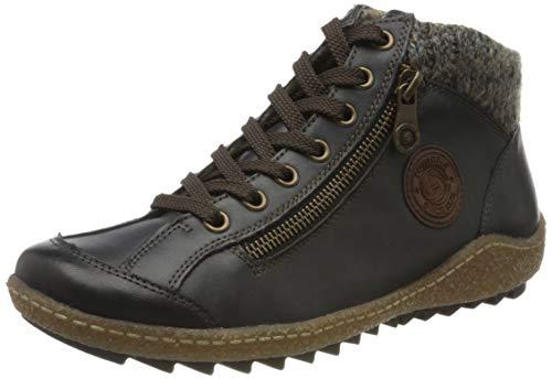 Remonte Damen R4775 Hohe Sneaker, Blau (Lake/Brown/Graphit/Pazifik 16), 40 EU