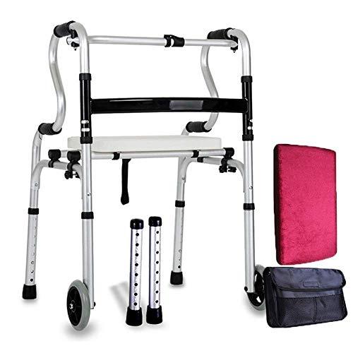 NBVCX Haushaltsprodukte Walker Rollstuhl Seitentasche Hände frei Walker Bag Robuste Walker Rollator Scooter Zubehör Aufbewahrungstasche