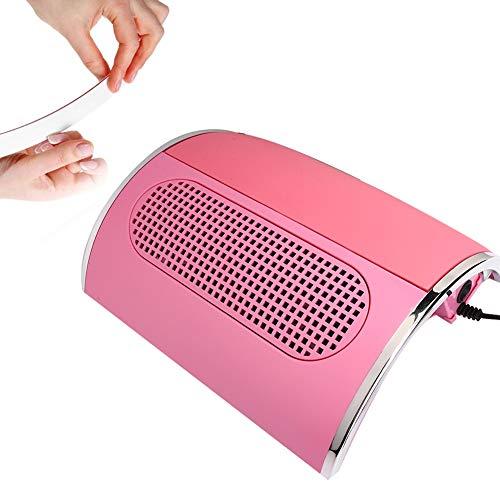 Colector de polvo de uñas Aspirador de uñas grande y fuerte Máquina de manicura profesional de salón 40W 3 ventiladores(EU)
