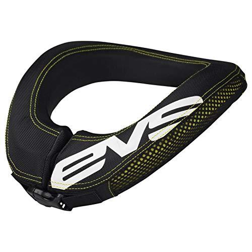 EVS Sports 112046-0109 unisex-adult R2 Race Collar (Black/Hi-Viz