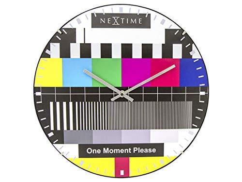 NeXtime große Design-Wanduhr