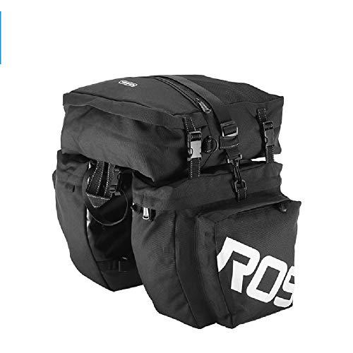 YHDQ Mountainbike Tasche, 22 Zoll wasserdichte ferngepäck Koffer Fahrrad zubehör, (für professionelle Fahrrad zubehör für Fahrrad laderäume)-Black