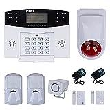 discoball - Sistema de alarma antirrobo (LCD, inalámbrico, GSM, marcación automática, notificación por mensaje de texto)