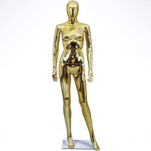 SDKFJ Maniquíes Maniquí Femenino Modelo de Cuerpo Completo Accesorios de maniquí de Cuerpo Completo Modelo de Mujer Soporte de exhibición para Tienda de Ropa Accesorio de exhibición
