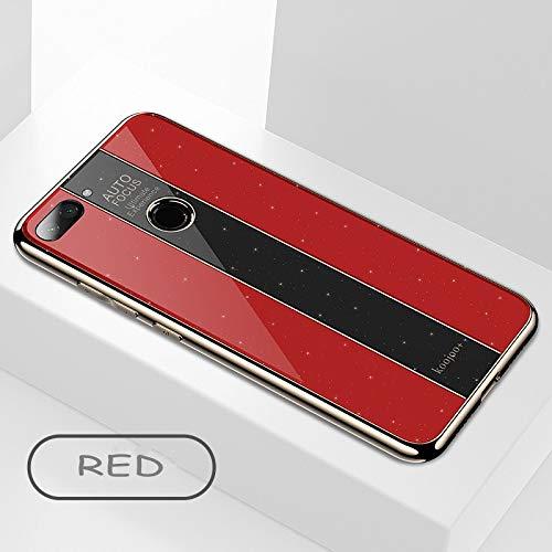 Funda para Xiaomi Mi 8 Lite(Rojo)