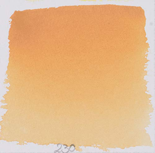 Schmincke 14230044 Watercolor Pans, Naples Yellow Reddish, Half Pan