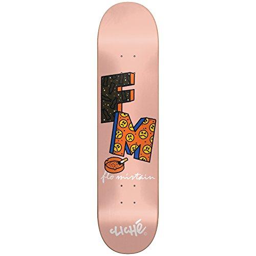 Generic Cliche Skateboard-10026495Routine Deck, Flo Mirtain, Größe 8