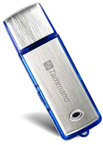 Digitales USB-Aufnahmegerät zum Spionieren von Gesprächen - Mini Spy USB Sound Voice Recorder - mit 8 GB Flash-Drive - Eignet sich am besten für Meetings, Präsentationen, Notizen machen - Mac/Win - Pro Speicherstick - Kein Blinklicht - 96 Std. Tonaufzeichnungen - Ein AN/AUS-Schalter