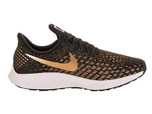 Nike Women's Zoom Pegasus 35 Running Shoe Black/Metallic Gold/Wheat Gold Size 8.5 M US