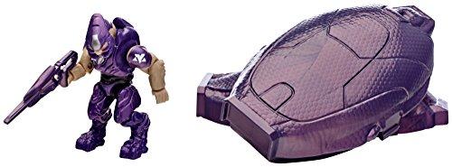Mega Bloks Halo Drop Pod Metallic Purple Elite Toy Figure