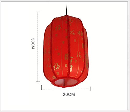 Plafondlamp Chinese kroonluchter rode gang gang lantaarn balkon enkele kop licht en lantaarns klassiek restaurant retro palast lantaarns restaurant verlichting Persona