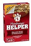 Betty Crocker, Hamburger Helper, Deluxe Beef Stroganoff, 5.5oz Box (Pack of 6)