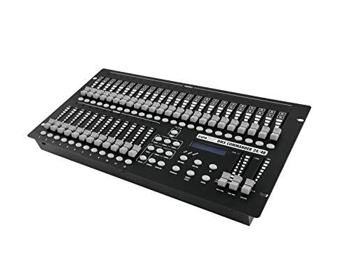 EUROLITE DMX Commander 24/48 Controller | Theaterlicht-Pult für 48 DMX-Kanäle, jede Szene in der Helligkeit einstellbar