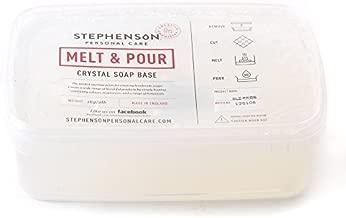 Mystic Moments Melt and pour Base de Savon Transparent 2 kg