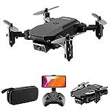 Goolsky Drone S66 RC con Telecamera 4K Drone Dual Camera Posizionamento del Flusso Ottico WiFi FPV...
