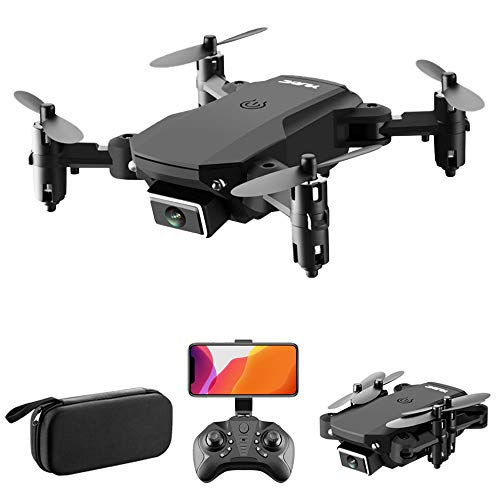 Goolsky Drone S66 RC con Telecamera 4K Drone Dual Camera Posizionamento del Flusso Ottico WiFi FPV Drone modalità Senza Testa Altitudine Hold Gesto Foto Video Traccia Volo 3D Filp RC Qudcopter Borsa