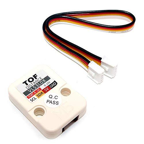 DollaTek M5 Unité Officielle ToF VL53L0X Module de capteur de Distance d'interruption de Temps de vol (ToF) de capteurs de Distance Grove I2C