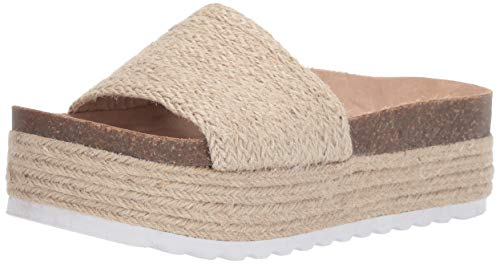 Dirty Laundry by Chinese Laundry Women's Palm Espadrille Wedge Sandal, Natural Jute, 9.5 M US