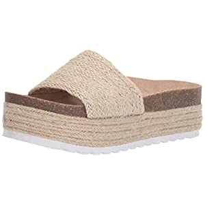 Dirty Laundry by Chinese Laundry Women's Palm Espadrille Wedge Sandal, Natural Jute, 7.5 M US