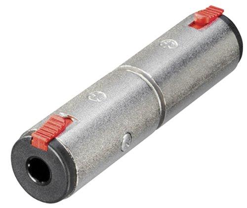 Neutrik NA3JJ 6.35mm Stereo Klinkenbuchse zu 6,35mm stereo Feststellzange Klinkenbuchse Adapter