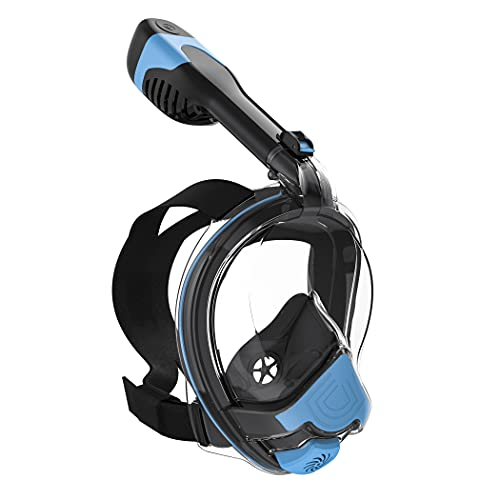 Orsen Electric Full Face Snorkel Mask, World's First CO₂ Standard Snorkel Mask, SGS Approved...