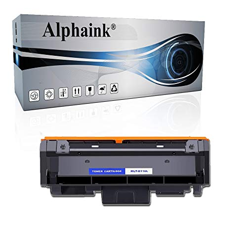 Toner Alphaink Compatibile con Samsung D116L versione da 3000 copie per stampanti Samsung SL-M2620 2625 2626 2820DW 2826 2875FW Xpress M2620 2625 2820 2870 2875 2876 2885 (1 Toner)