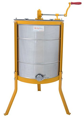 Manual Honey Extractor 4 Frame Tangential Langstroth Spinner | Convenient Durable Simple & Economical
