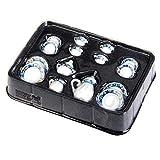 15pcs 1/12 Casa de muñecas en Miniatura del patrón del Juego de té de Flores de Porcelana Taza de té de muñecas Muebles de la casa Decoración