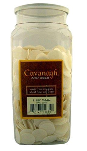 Cavanagh Altar Bread - 1 1/8' White - 1000/Container