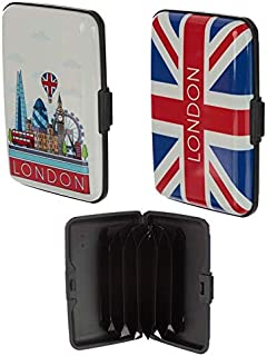 London Icons Contactless RFID Protection Card Case Card Holder Premium Quality