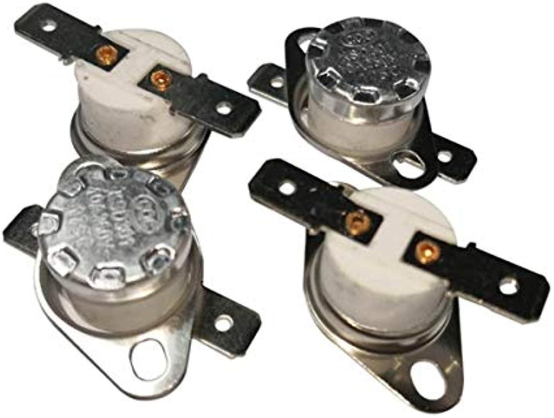 XIXI 100PCS Thermostat Switch KSD301 KSD302 320C 10A250V NC Normal Close Ceramic Temperature Switches  (color  320C, Voltage  10ANormal CloseNC)