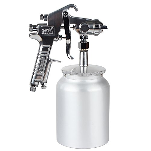 High Pressure Spray Gun with 1000cc Cup, 3.0mm Nozzle,...
