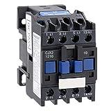 Heschen AC Contactor CJX2-1210 24V 50/60Hz Bobina 3P 3 polos normalmente abierto Ie 12A Ue 380V